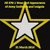 NEW AR 670-1 Wear & Appearance