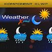 Komponent Weather Xpaint