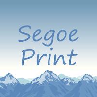 Segoe Print FlipFont