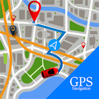 Voice GPS Driving Route :