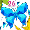 Coloring Book 26: Geometric Designs