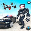 Police Panda Robot Transformation: Robot Shooting