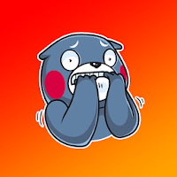 Angry Panda Sticker for WhatApp