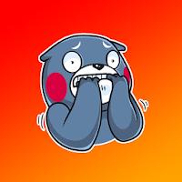 Angry Panda Sticker for WhatApp