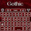 FREE Gothic Go Keyboard theme