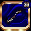 Abstract Blue 3D Next Launcher theme