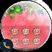 Xmas Red Phone Dialer Theme