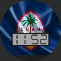 Guam Flag for WatchMaker