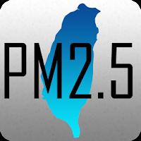 台灣 PM2.5 & PM1.0 分佈圖 含空氣品質 風向 及 歷史紀錄