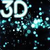 Gyro Particles 3D Live Wallpaper