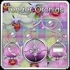 Free Tender Orchids Go Locker theme