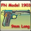 FN pistol model 1903 explained