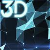Space Particles 3D Live Wallpaper
