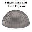 Petal Layout Pro : Sphere, Dish Ends