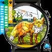 Geometric Nature Fox - Watch Face