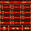 Abstract Red EX Dialer theme
