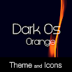 Dark Os Orange Theme 1.0.9