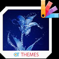 Water flower Xperia Theme 1.0.0