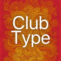Club Type Medium FlipFont 74k