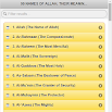 99 Names of Allah 0.0.1