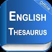 English Thesaurus 2.5