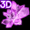 Shiny Crystals Parallax 3D Live Wallpaper 1.0.4