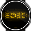 LED watch face | Vintage | Seventies Amber 2.0.0