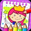 Princess Coloring Book & Games 1.38