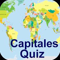 Pays du Monde + Capitales Quiz 1.2
