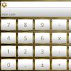 SCalc Frame White Gold theme 4.0