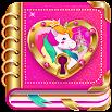 Unicorn Diary (with lock - password) 8.4