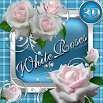 White Roses 3D Next Launcher theme 1.3