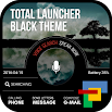 Black Total launcher theme 1.4