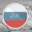 Russian Flag Watch Face 637k