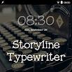 Storyline Typewriter FlipFont 87k