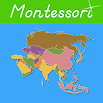 Asia - Montessori Geography for Kids 1.0