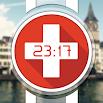 Swiss Flag Watch Face 638k