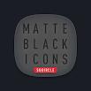 Matte Black SQUIRCLE Icons 1.4