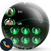 Spheres Green Phone Dialer & Contacts Theme 10.0