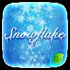 Snow Flake GO Keyboard Theme 4.5