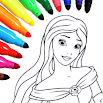 Princess Coloring Game 14.1.8