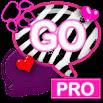 WB Pink Zebra Theme for GO SMS 1.0.1