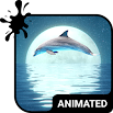 Dolphin Animated Keyboard + Live Wallpaper 3.44