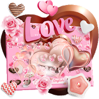 Chocolate Love Keyboard Theme 10002001