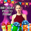 birthday photo frame with text 0.7
