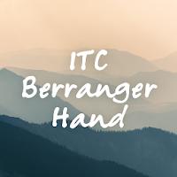 Berranger Hand FlipFont 73k