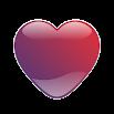 Crystal Heart : Icon Mask for Nova Launcher 2.2