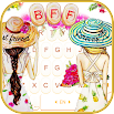 Bff Friends Forever Keyboard Theme 1.0