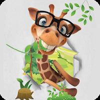 Cute Cartoon Glasses Giraffe Theme 1.1.2
