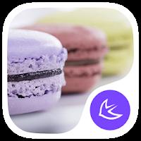 Macarons-APUS Launcher theme 585.0.1001